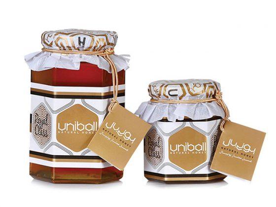 طراحی-بسته بندی-مواد-غذایی-ظرف-عسل