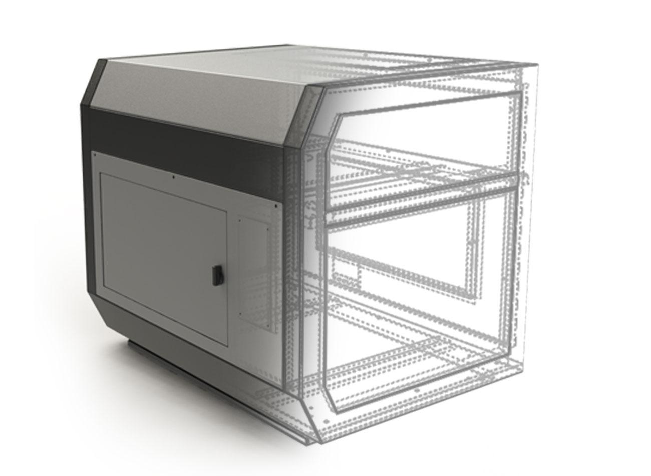 سالید ورکز مدلسازی سه بعدی بدنه لیتوگرافی