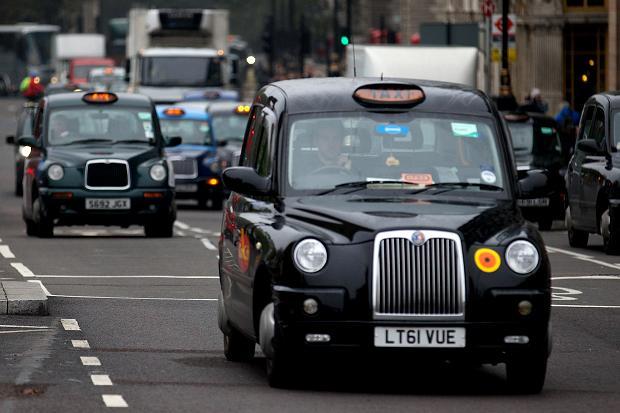 تاکسی های شهر لندن