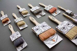 پیامی روشن در طراحی بسته بندی قلم مو