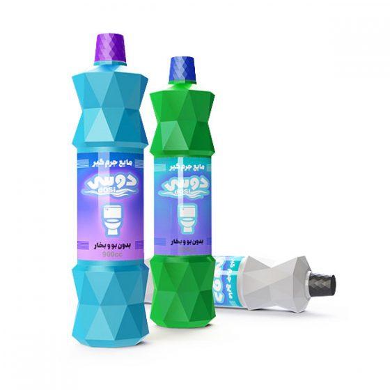 طراحی بسته بندی طراحی بطری طراحی بسته بندی مواد شوینده