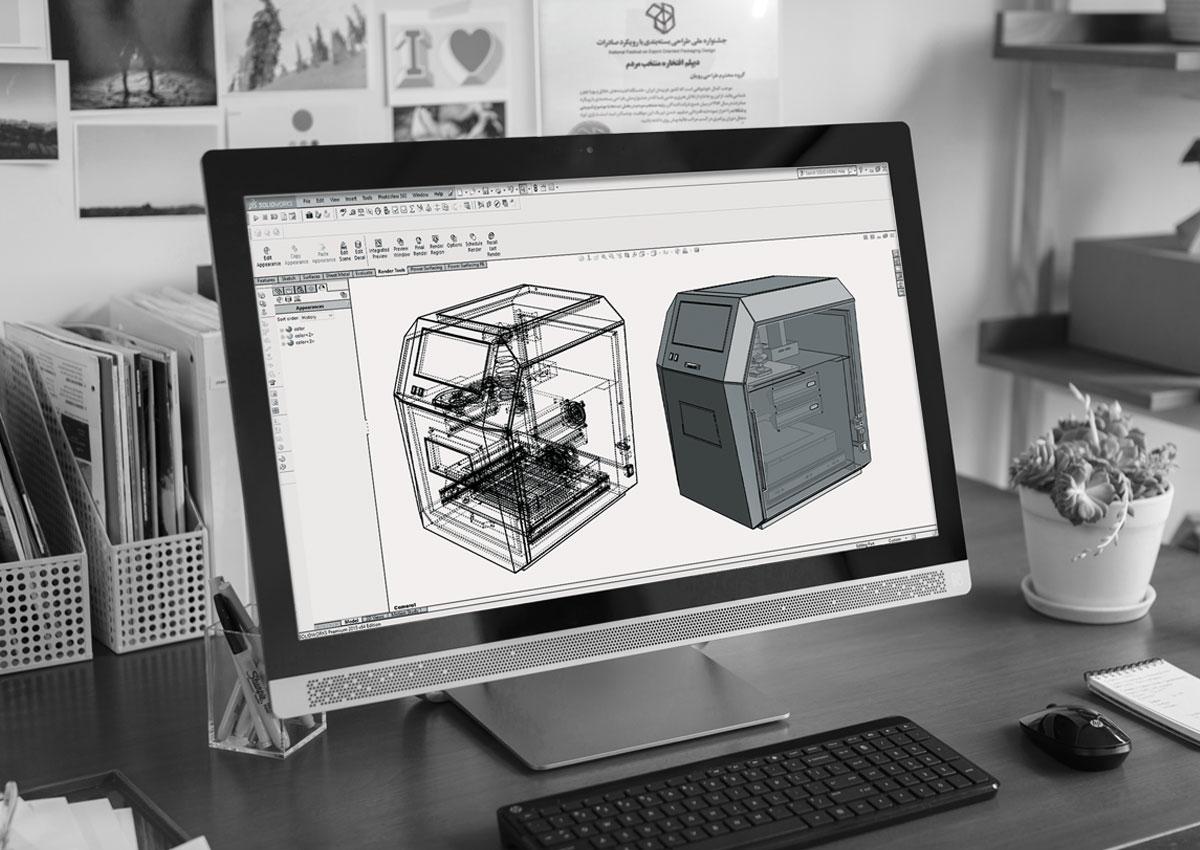 مدلسازی سه بعدی سالید ورک